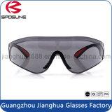 Anti vidros de segurança UV cinzentos industriais por atacado da lente En166 com o nariz de borracha macio acolchoado