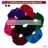 Hair Band Elastic Hair Band Velvet Hair Scrunchie Girl Acessórios (P3017)