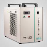 Máquina de gravura do Chiller de água industrial de armazenamento a frio dissipar o calor