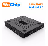 Ax5 Amlogic S905X 6.0 de Android TV Box Set Top Box