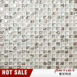 Mosaico White Silver decorativos para pared