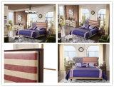 [فوشن] صناعة منزل غرفة نوم أثاث لازم يورو أسلوب جلد سرير ليّنة