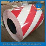 Prepainted Cordón de Seguridad de las bobinas de acero de grano frío rollos PPGI/PPGL