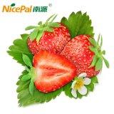 식사를 만들기를 위한 원료 딸기 과일 분말