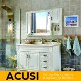 新しい到着アメリカの簡単な様式の純木の浴室の虚栄心(ACS1-W12)