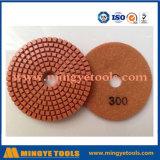 100/125/150 / 180mm Plaque de polissage humide et humide au diamant