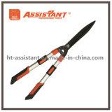 Mango de aluminio extensible de cizallamiento de podar tijeras de podar con cuchilla ondulada