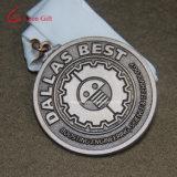 Kundenspezifische Goldsilber-Metallfertigkeit-Gussteil-Medaillen für Andenken-Geschenke