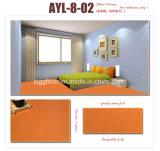 Plancher en stratifié de PVC de surface décorative de lustre de qualité