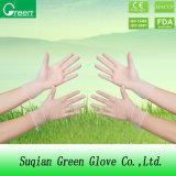 Limpieza de guantes de vinilo desechables para la familia