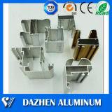 Perfil de alumínio de alumínio da extrusão do indicador & da porta com revestimento do pó