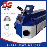 Machine van het Lassen van de Laser van de Juwelen van de Desktop van China de Beste 200W voor Goud