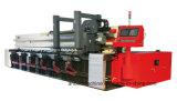 Plaat V van het blad de Machine die van de Groef Machine inkerft