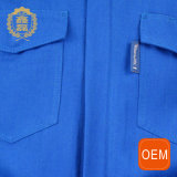 Tuta funzionante di sicurezza blu della saldatura dell'OEM