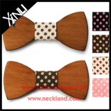 Alta Moda De La Venta Al Por Mayor Custom Bow Tie Wood