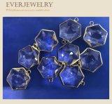 Acessório de cristal da jóia do pendente da pedra de gema