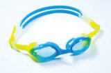 青年Colorfull様式の紫外線保護レンズの水泳のゴーグル