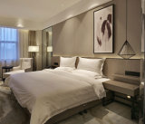 Meubles en bois modernes cinq étoiles de chambre à coucher d'hôtel de Hilton
