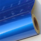 Голубая акриловая отражательная пленка или покрывать
