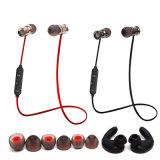 Sport sans fil stéréo magnétique d'écouteurs d'Earbuds Bluetooth en métal exécutant les écouteurs bas d'écouteur de musique du DJ avec la MIC