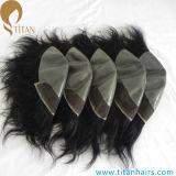 Indische Remy Menschenhaar-Spitze-Vorderseite-Haar-Systeme für Männer