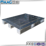 Surtidores de la fábrica que sueldan la paleta de aluminio de encargo amontonable