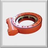 Unidad de rotación de la caja cerrada solo gusano, el reductor de engranajes