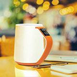 Tazza astuta 350ml del nuovo di OLED di temperatura di APP di salute del regalo caffè di ceramica della maniglia