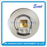 Medidor de presión-abrazadera de la presión de conexión del manómetro de aceite Archivado tipo de medidor de presión