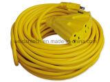Energien-Extensions-Kabel UL-CSA NEMA5-15A