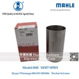 Forro do motor de Mahle do forro do cilindro da máquina escavadora S6kt de Cat320c