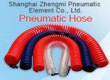 Kristall Orange100% PU-Rückzug-Luftröhre mit schnellen Verbindern (6.5*10mm)