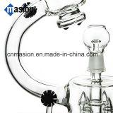 Tubo de fumar de vidro de tubulação de tubo de Mircoscope de design criativo (EY004)