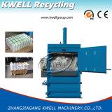 Machine de presse à emballer de papier de rebut/presse hydraulique rebut en plastique vertical