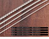 Halsband van de Manier van het Staal van de Halsband van de Ketting van Rolo van het roestvrij staal de Zilveren