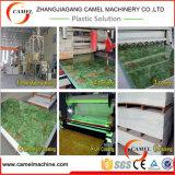 PVC 모조 대리석 장 생산 라인/PVC 돌 조각품 마루 밀어남 기계