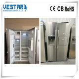 Refrigerador side-by-side livre da geada com certificação do Ce