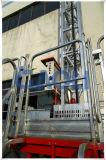 Mástil Clambing móviles de trabajo de la plataforma del andamio