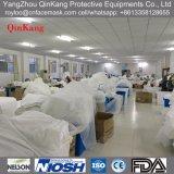 PP/PP+PE/SMS/Microporous Labormantel/Arbeits-Kleidung/flüssiger beständiger Overall