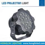 LEDの映写用電球3X9w 27Wは屋外の照明を防水する