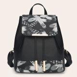 O plutônio durável da chegada nova com impressão de Digitas floresce sacos de escola simples do estilo da trouxa para as meninas Sy8198