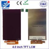 """輪郭は51.84 (h) Xつの86.40 (v) 4.0 """" TN TFT LCDスクリーン寸法を測る"""