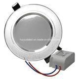 Горячее сбывание СИД Downlight/панель пятна светлая AC85-265V Aluminum+PC Matrial регулируемая