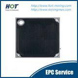 Conteúdo de água inferior do filtro de filtro PP Membrane Filter Press Plate