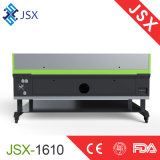 Jsx-1610高精度安定した働くCNCレーザーの彫版機械