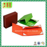 Rectángulo de empaquetado rígido a todo color de Foldble del papel de arte