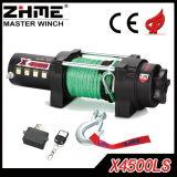 4500lbs treuil électrique de la traction ATV/UTV pour de faible puissance avec à télécommande