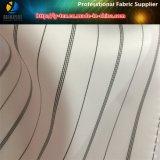 人または女性のスーツのライニング(S81.87)のための白く広い縞の織布