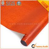 N ° 6 Tecido laminado em laranja PP