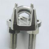Tipo grampos de DIN741 JIS de corda do fio do aço inoxidável